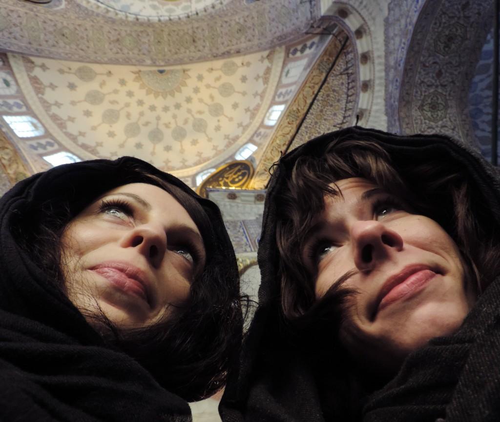 Moscheebesucherinnen