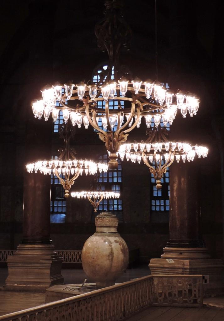 Hagia Sophia Kronleuchter
