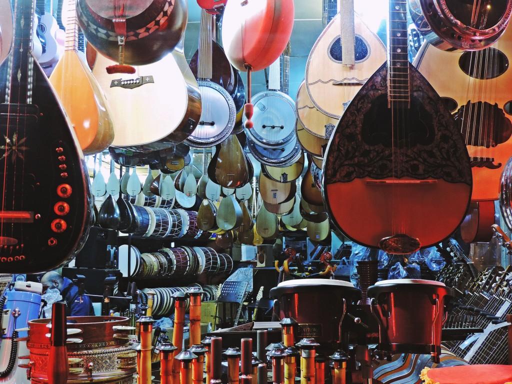 Instrumentenladen