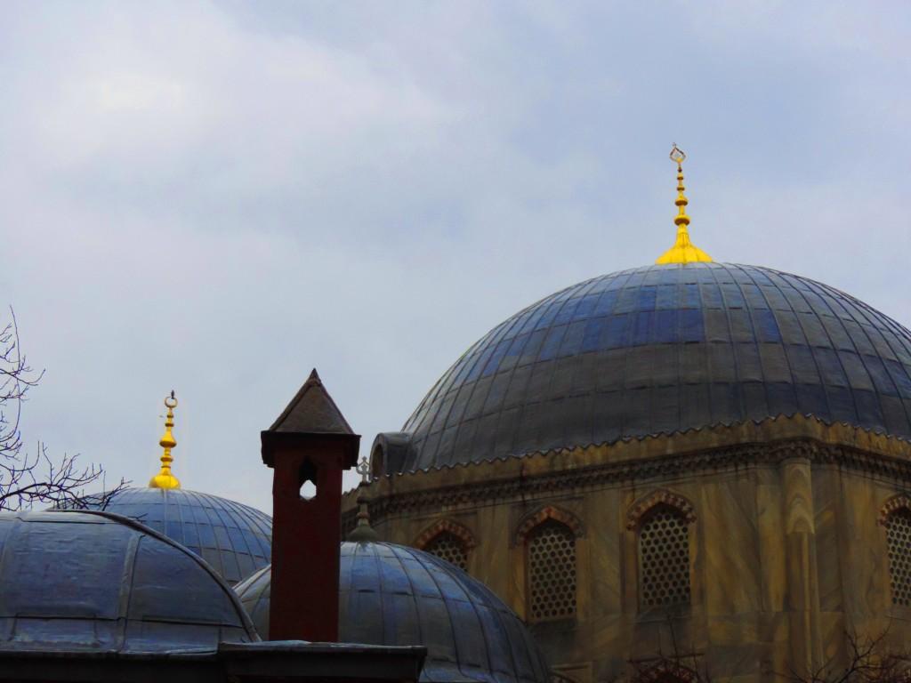 Türme einer Moschee