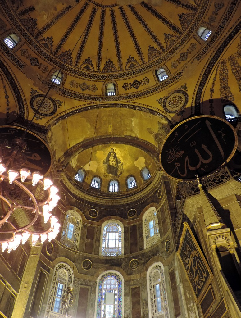 Hagia Sophia Decke